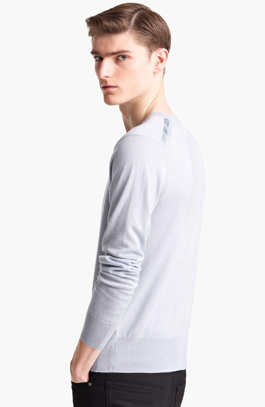 Alternate Image 2  - Burberry London 'Barnett' V-Neck Sweater
