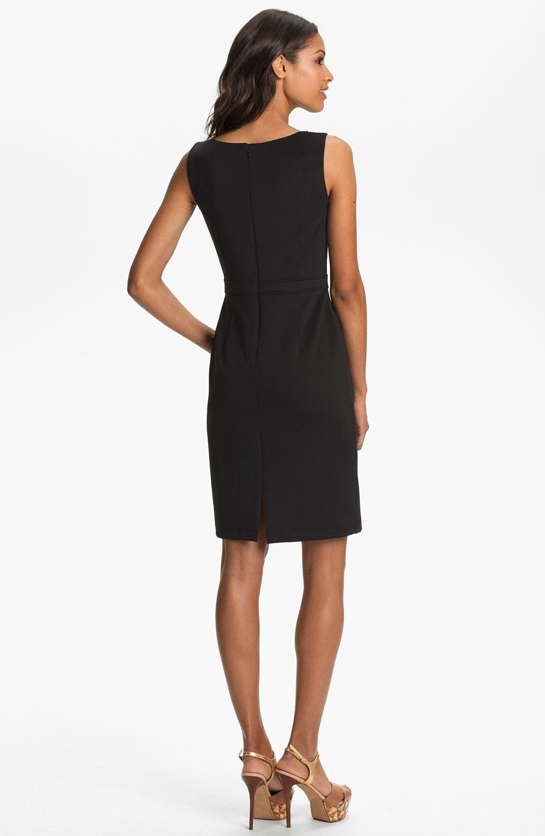 Alternate Image 2  - Ellen Tracy Embellished Sheath Dress