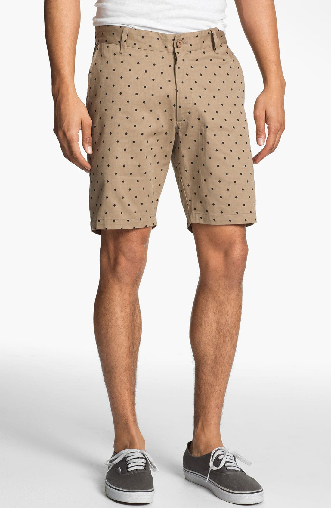 Alternate Image 1 Selected - Stussy Deluxe 'Gramps' Polka Dot Shorts