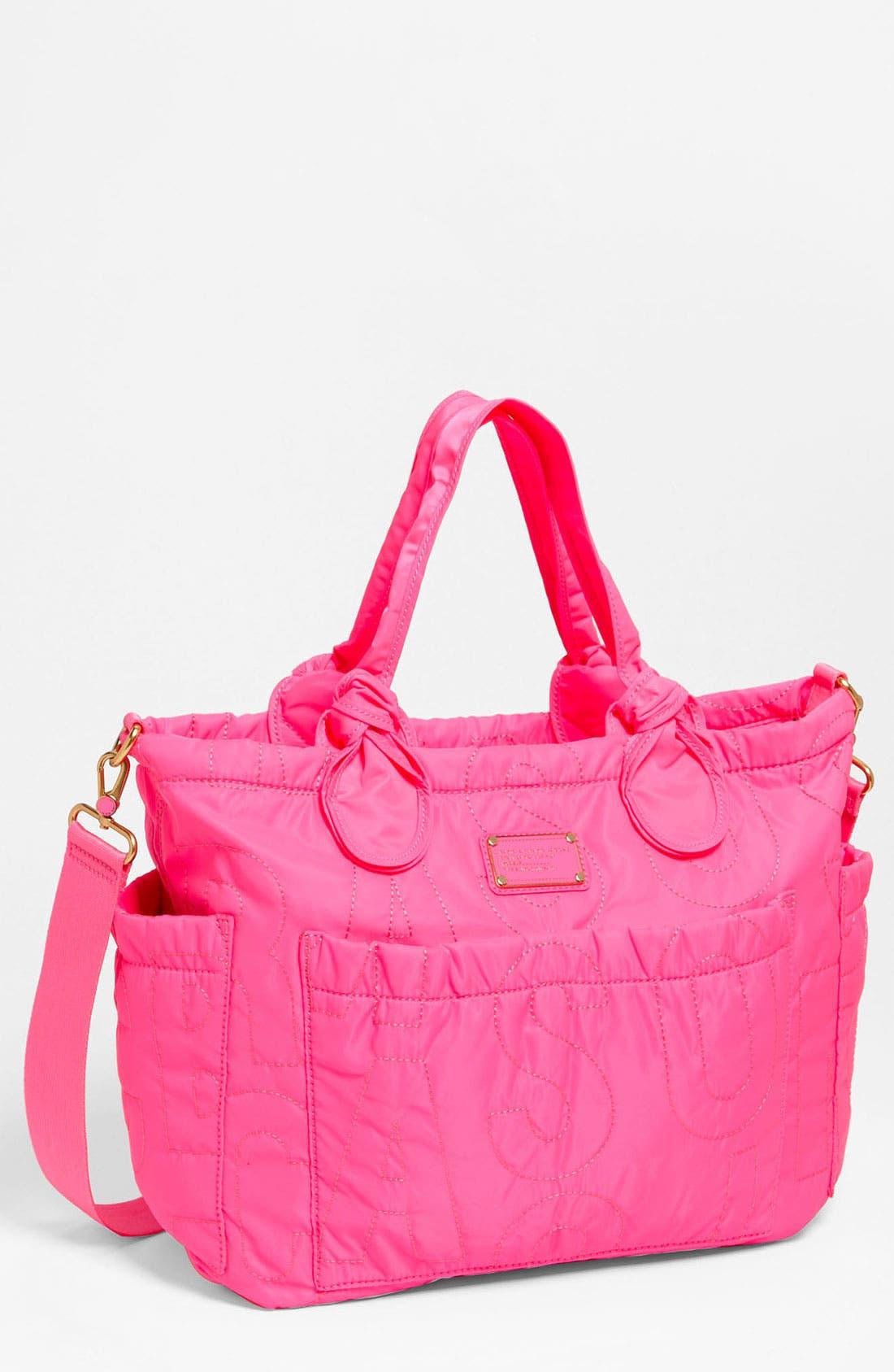Main Image - MARC BY MARC JACOBS 'Pretty Nylon Eliz-A-Baby' Diaper Bag