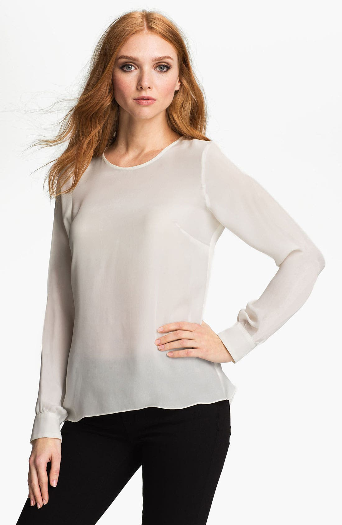 Alternate Image 1 Selected - Parker 'Marilyn' Silk Top