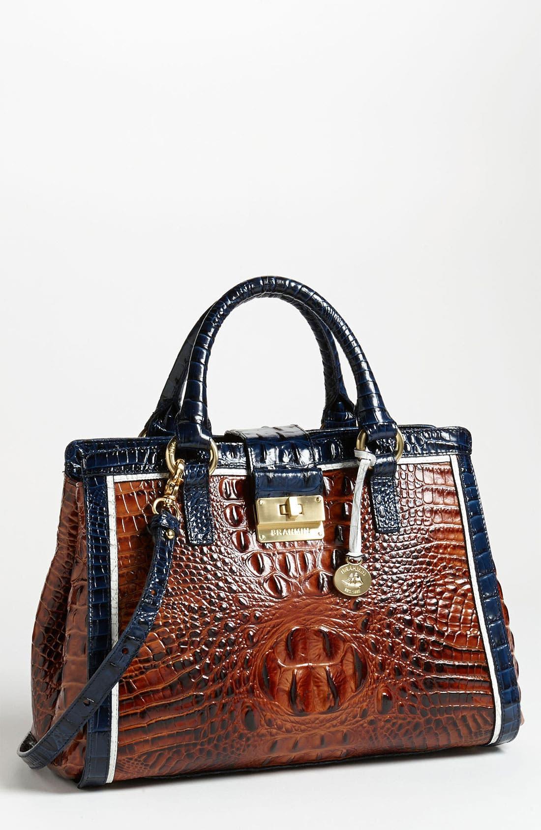 Alternate Image 1 Selected - Brahmin 'Tri Color Annabelle' Handbag