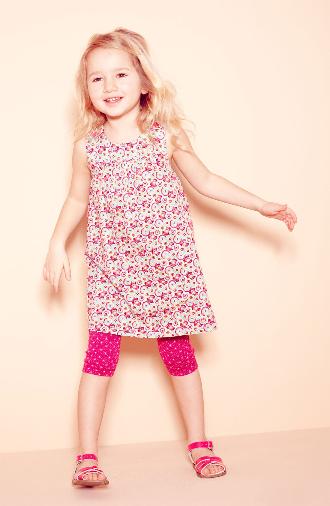 Alternate Image 2  - Tea Collection 'Cactus Flower' Dress (Toddler, Little Girls & Big Girls)