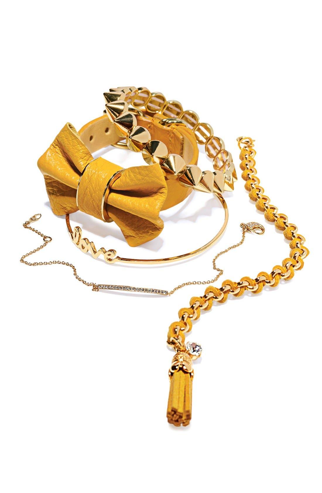 Alternate Image 4  - Tasha Spike Stretch Bracelet