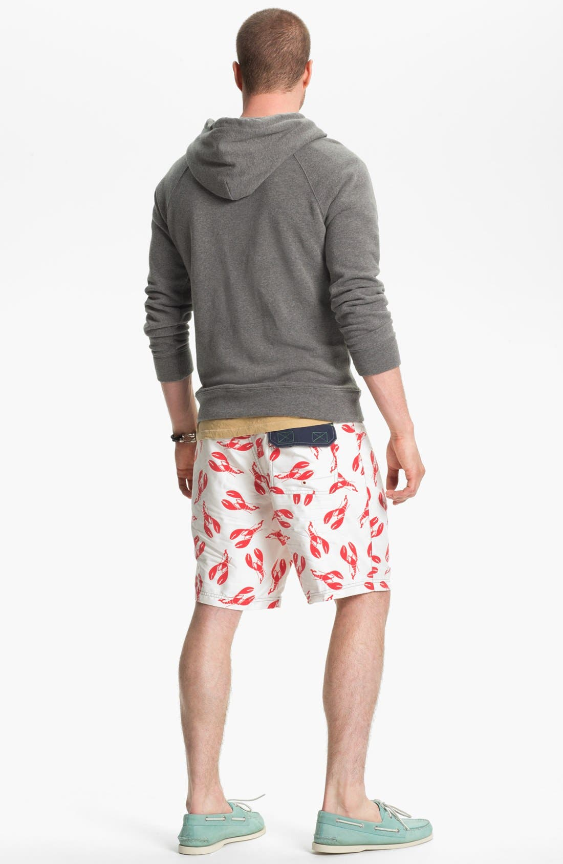 Alternate Image 5  - Sperry Top-Sider® 'What A Catch' Print Board Shorts