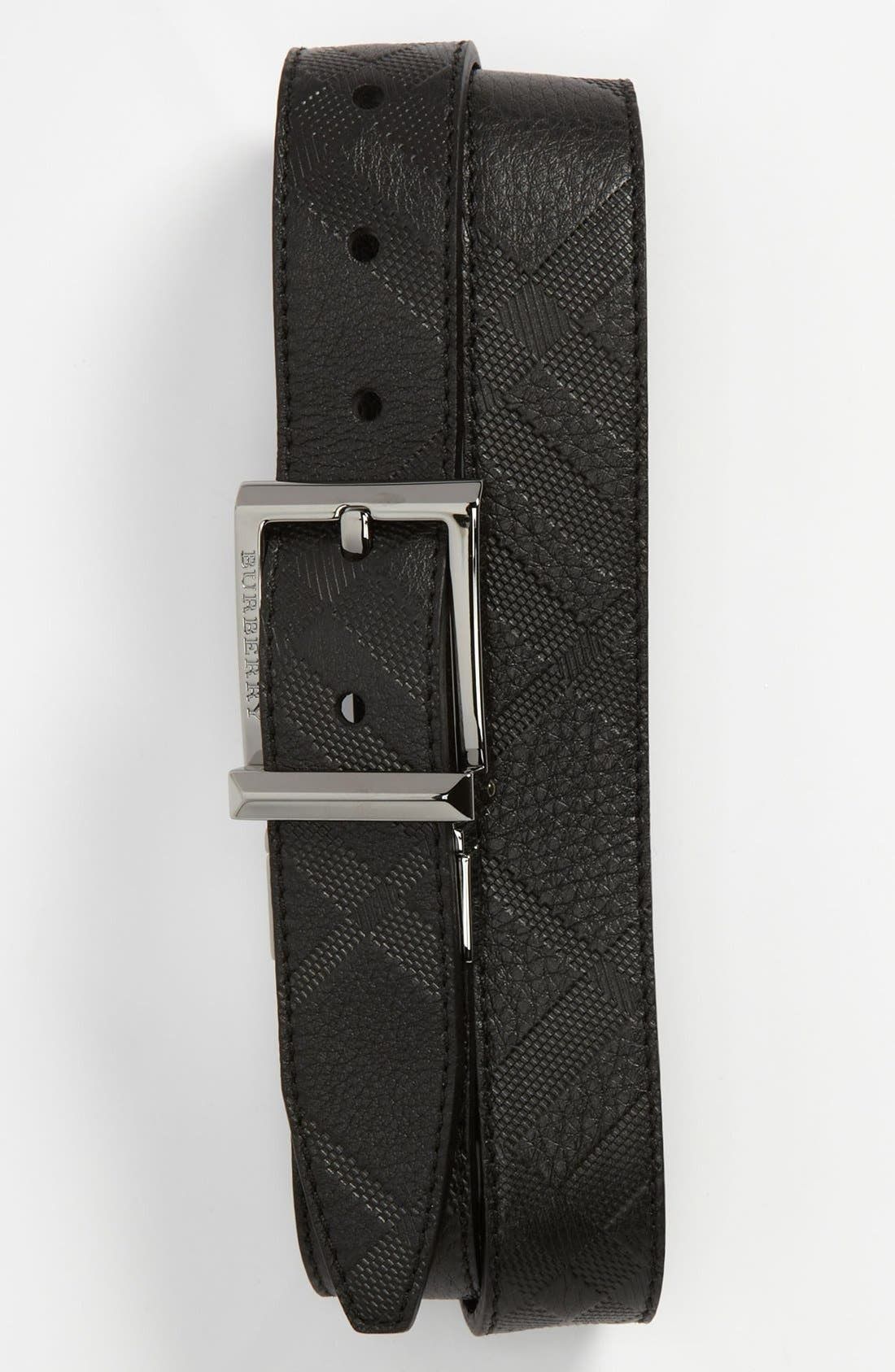 Alternate Image 1 Selected - Burberry Leather Belt