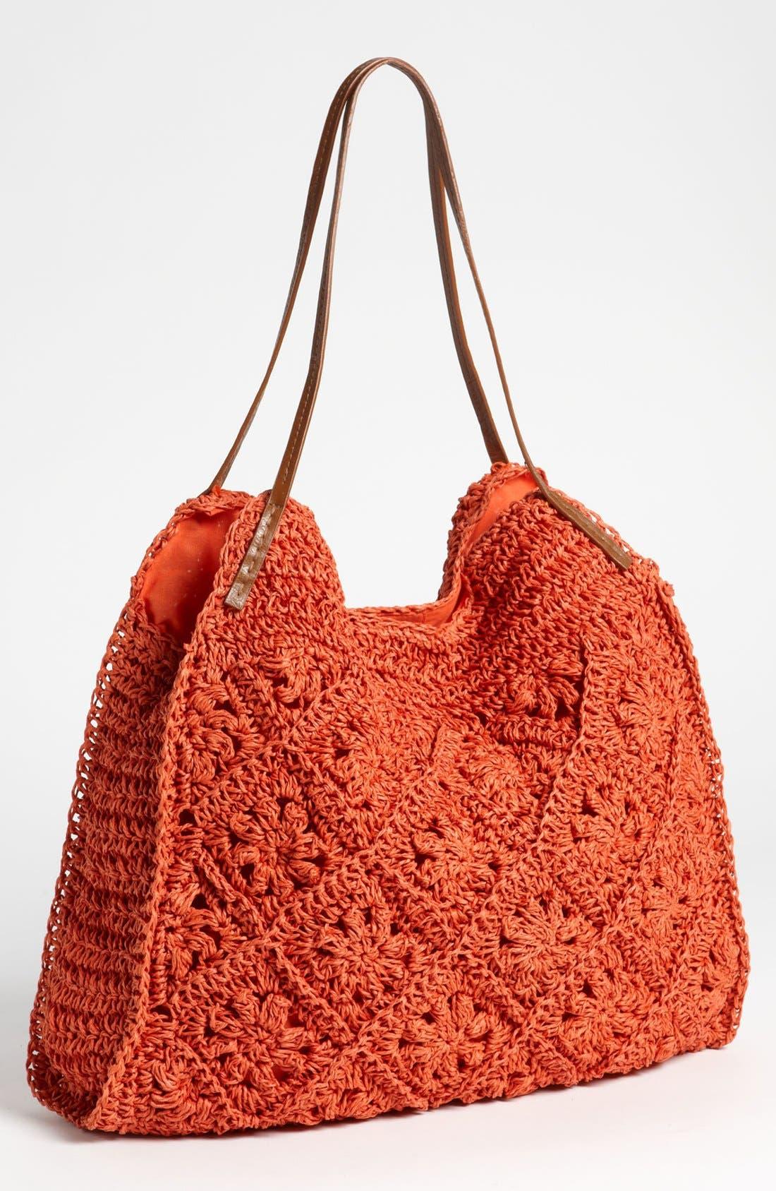 Main Image - Straw Studios Crochet Tote