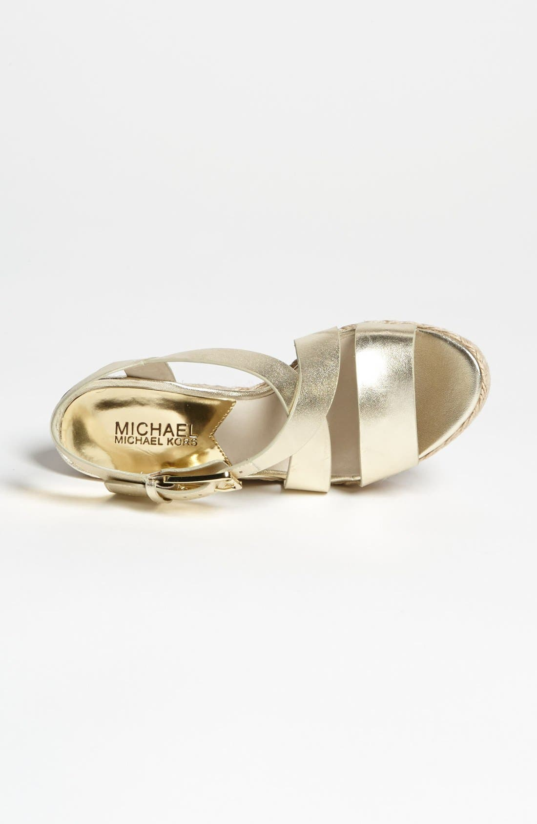 Alternate Image 3  - MICHAEL Michael Kors 'Giovanna' Wedge Sandal