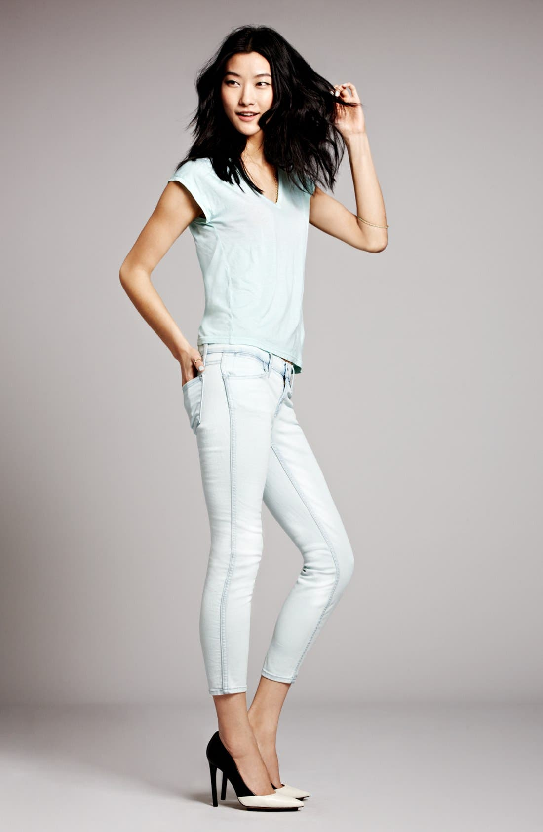 Alternate Image 4  - J Brand Ready-to-Wear 'Garland' Tee