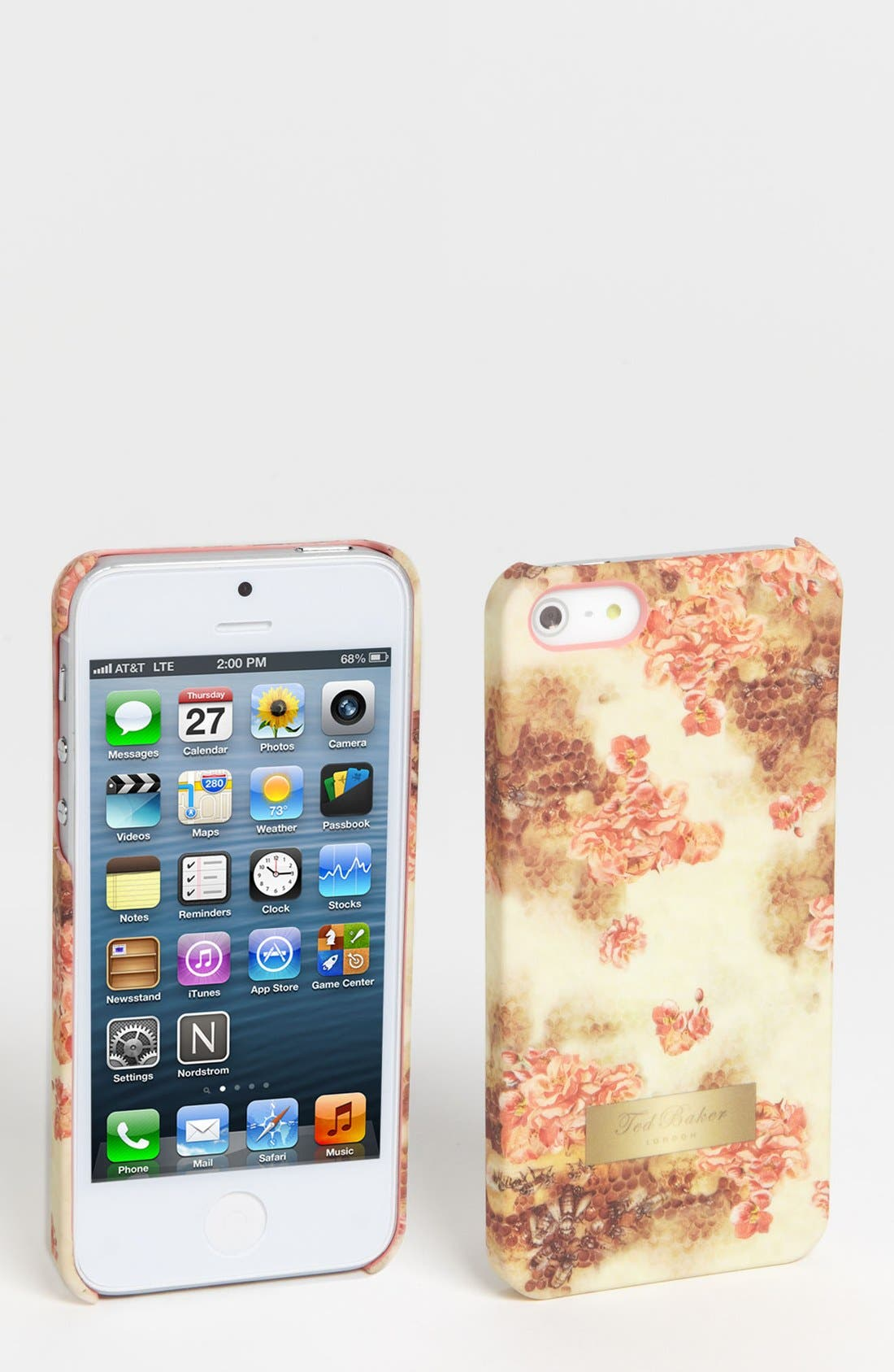 Main Image - Ted Baker London 'Busy Bee' iPhone 5 Case