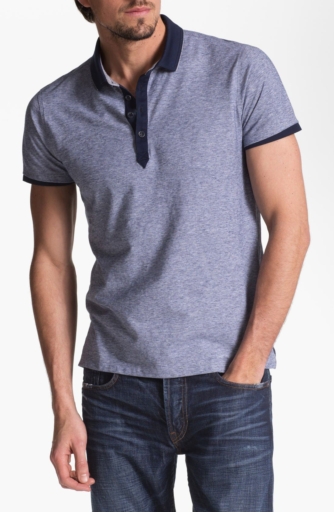Alternate Image 1 Selected - BOSS HUGO BOSS 'Arpino' Slim Fit Polo