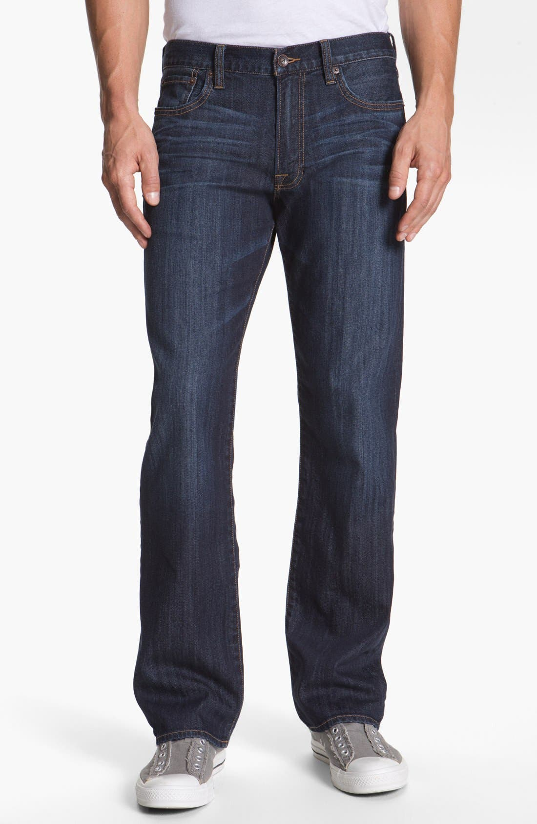Alternate Image 1 Selected - Lucky Brand '361 Vintage' Straight Leg Jeans (Chanson)