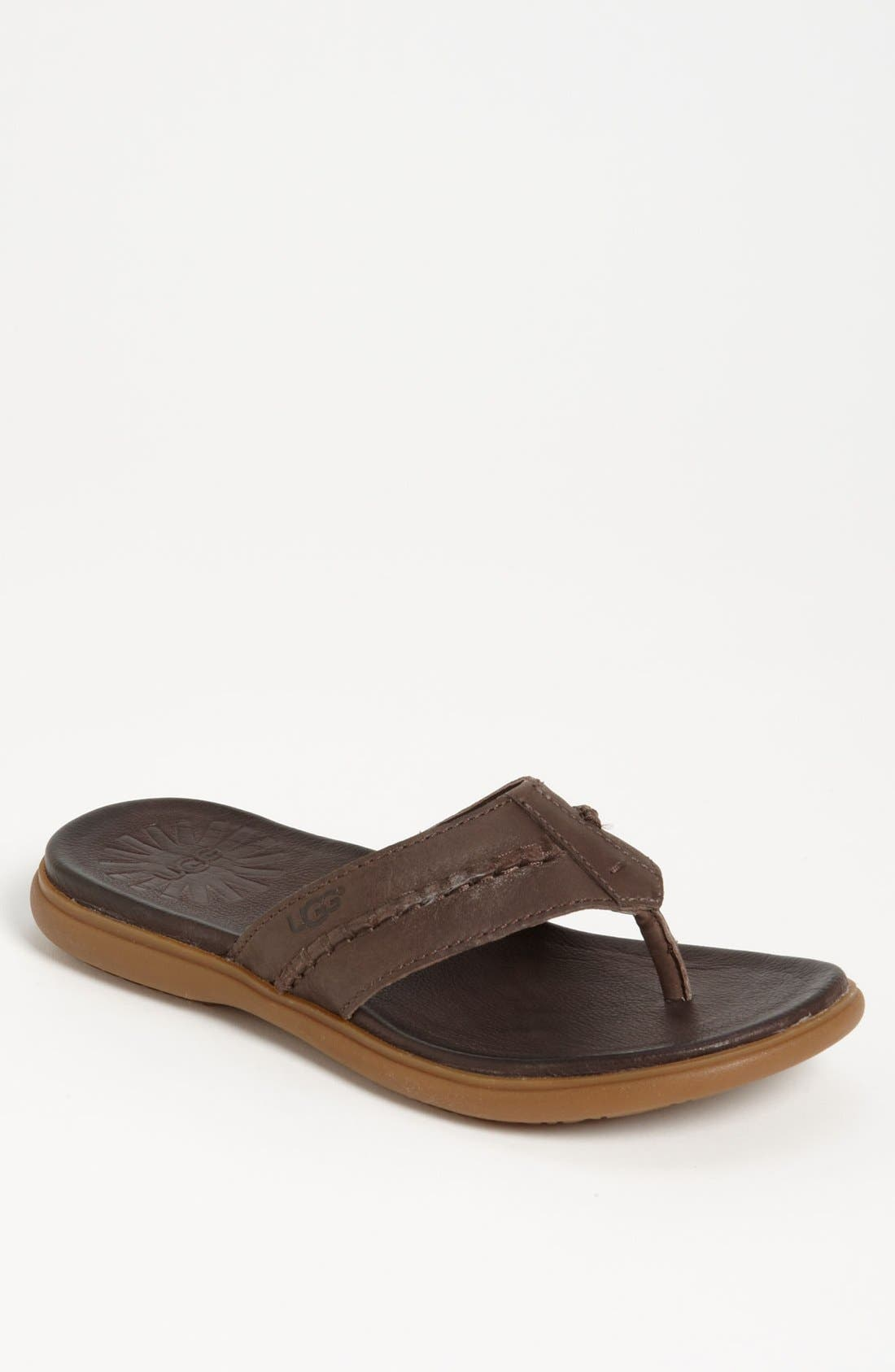Alternate Image 1 Selected - UGG® Australia 'Hegger' Flip Flop (Men)