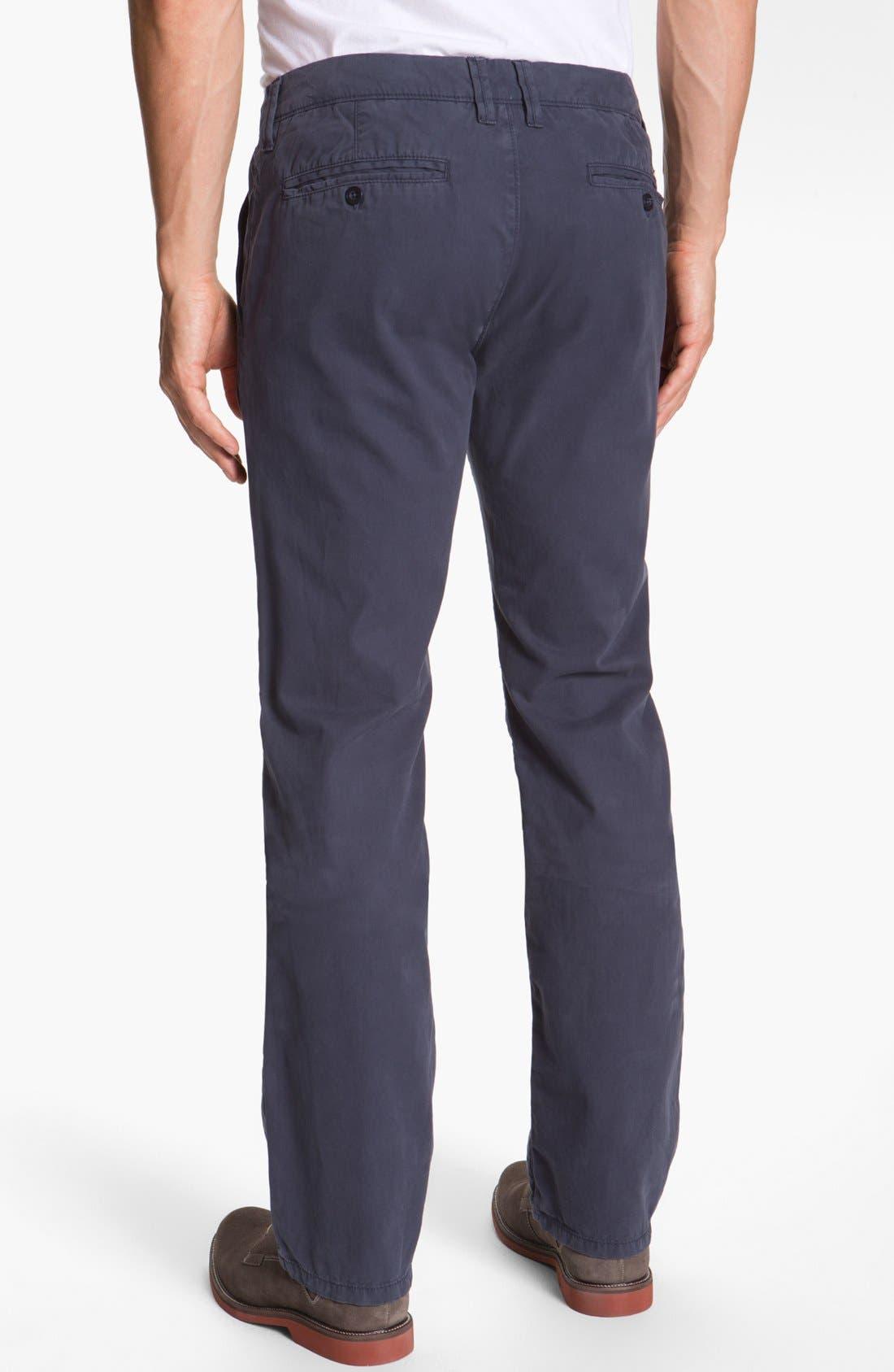 Alternate Image 2  - Buffalo Jeans Flat Front Pants