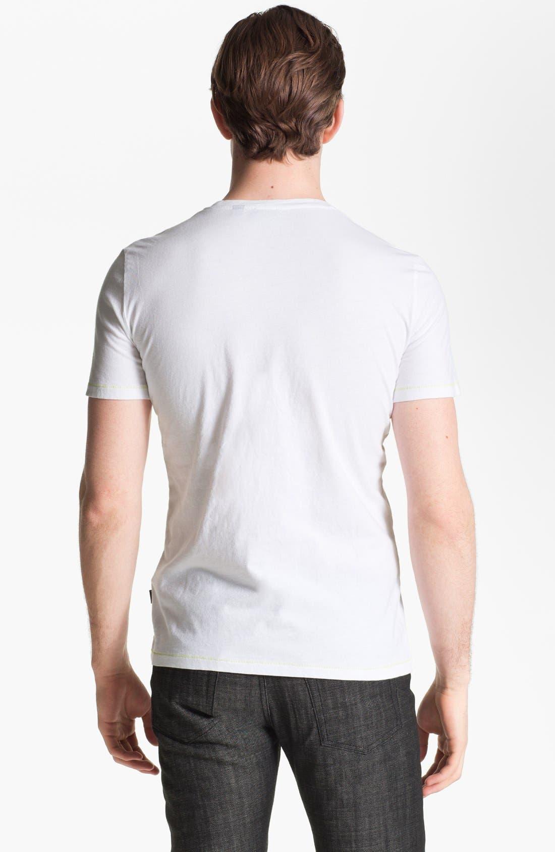 Alternate Image 2  - Just Cavalli Cheetah Graphic T-Shirt