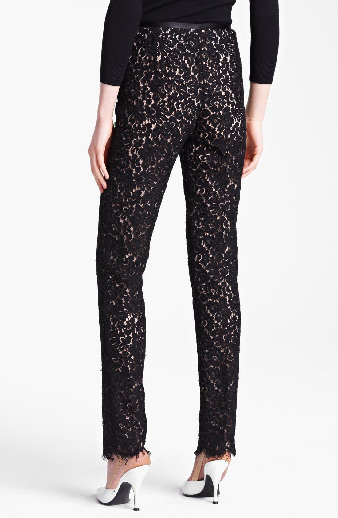 Alternate Image 2  - Michael Kors Floral Lace Pants
