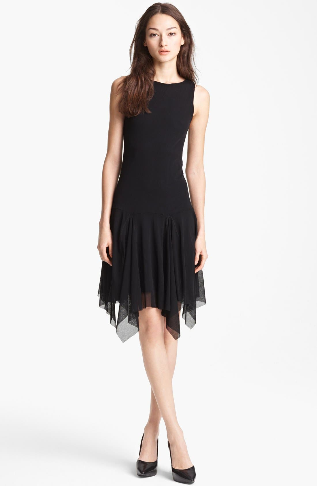 Main Image - Jean Paul Gaultier Fuzzi Flutter Hem Dress