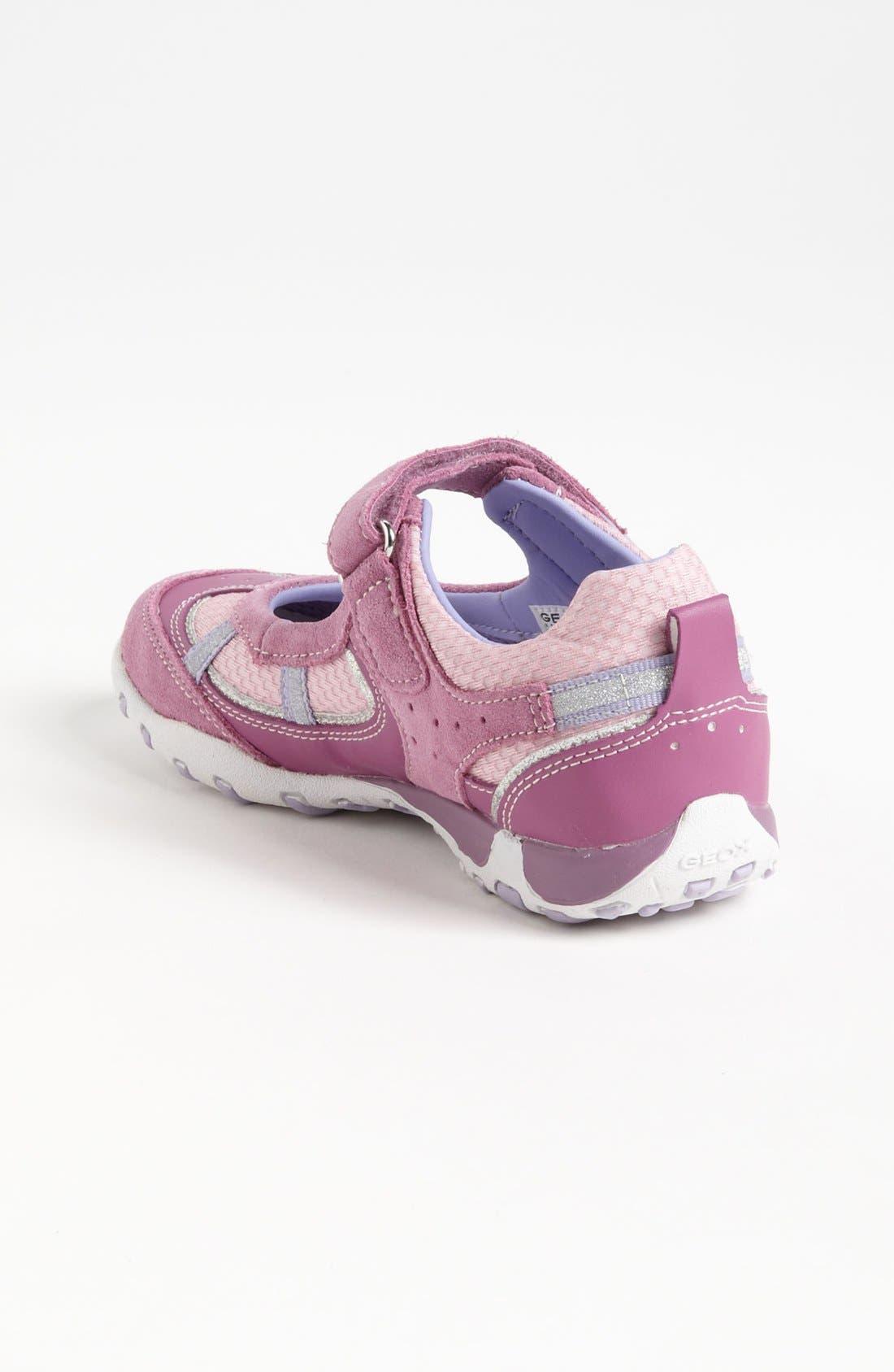 Alternate Image 2  - Geox 'Freccia G' Sneaker (Toddler, Little Kid & Big Kid)