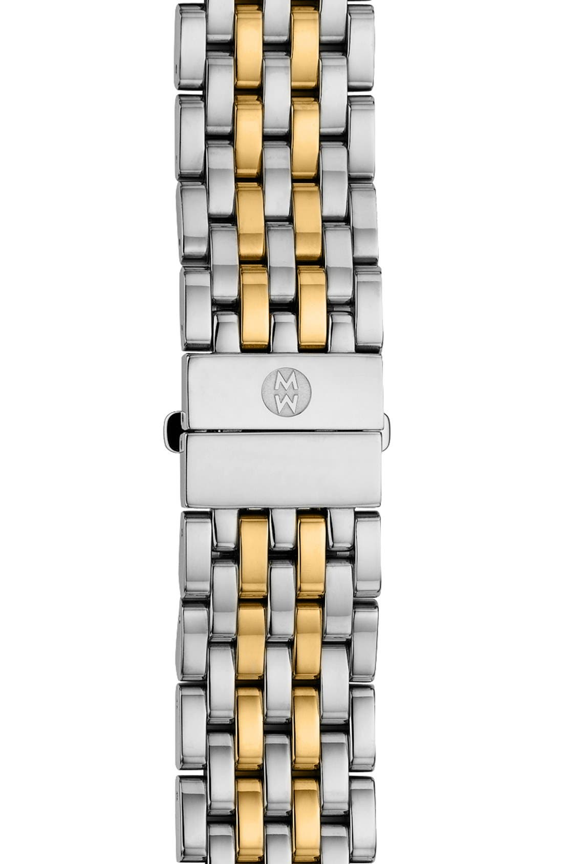 MICHELE 'Serein' 18mm Watch Bracelet Band