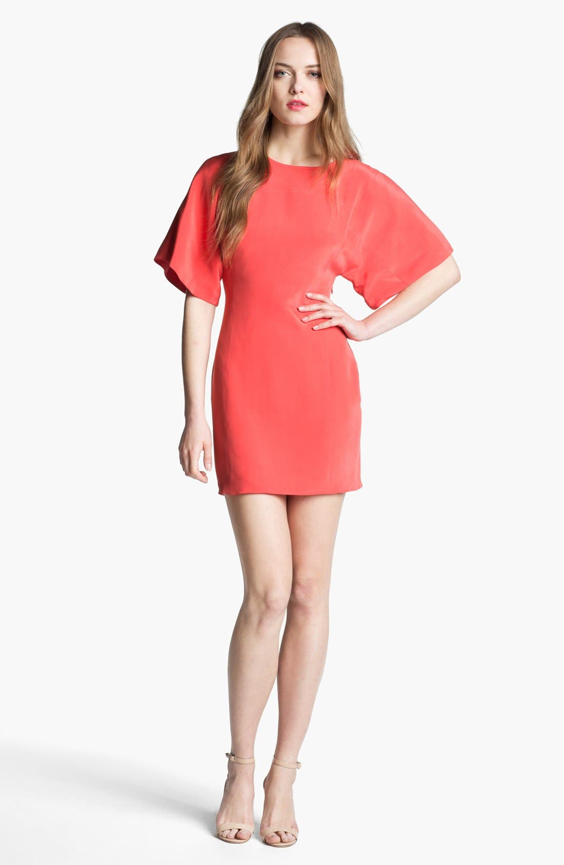 Alternate Image 1 Selected - Rebecca Minkoff 'Luis' Silk Sheath Dress