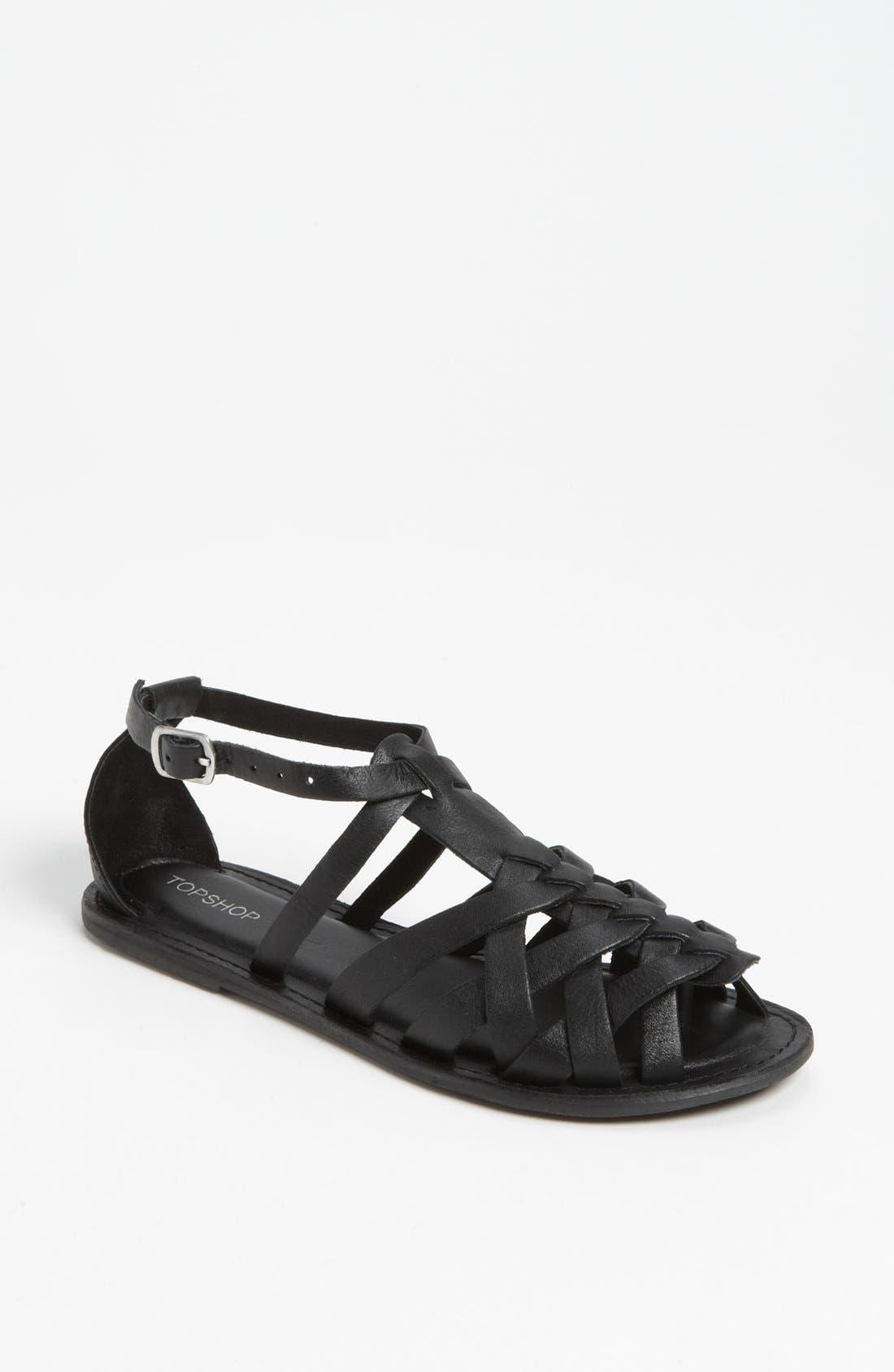 Main Image - Topshop 'Hippy' Sandal