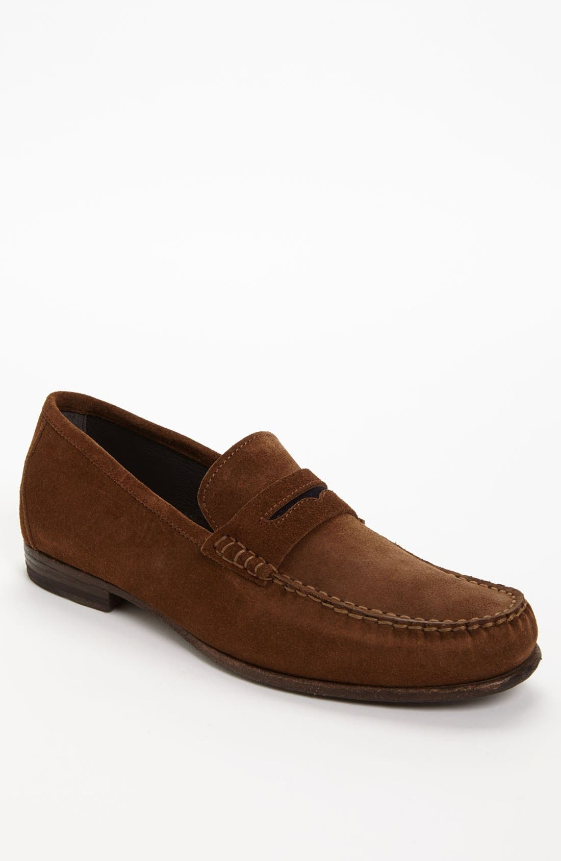 Main Image - To Boot New York 'Wilson' Suede Penny Loafer