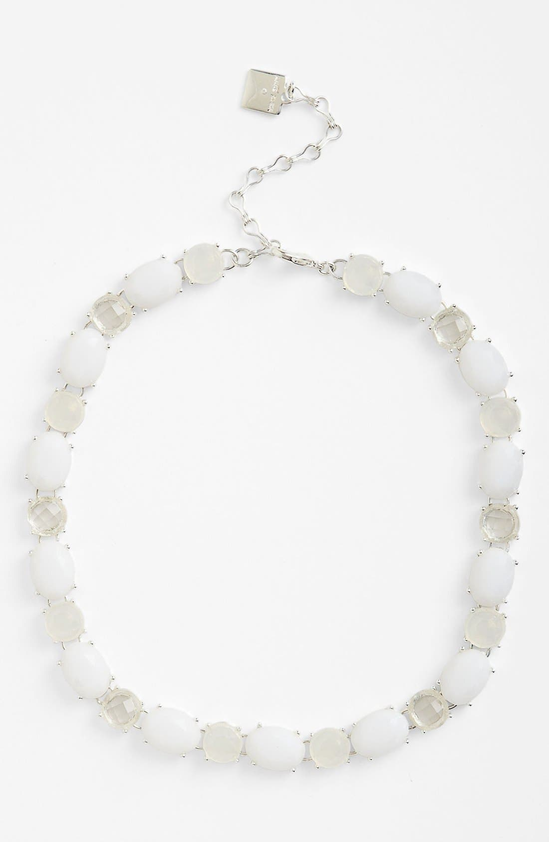 Alternate Image 1 Selected - Anne Klein All Around Stone Necklace