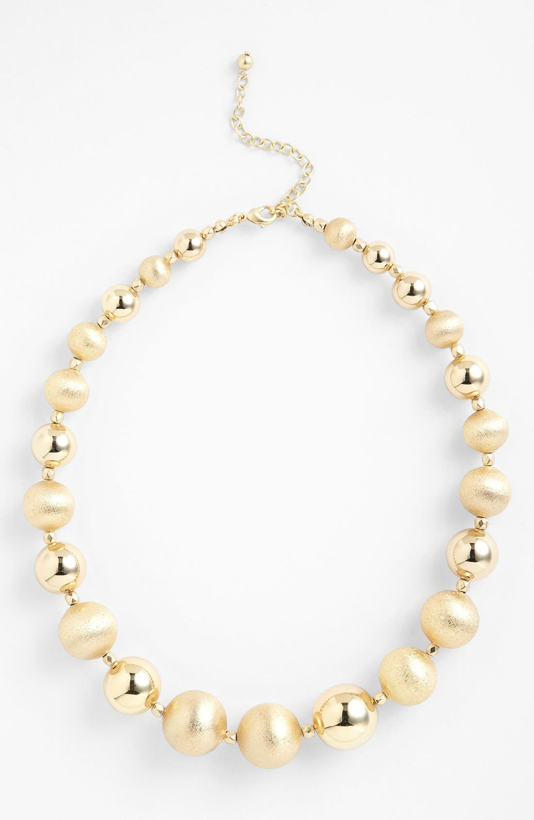 Main Image - Nordstrom 'Pebble Beach' Beaded Necklace