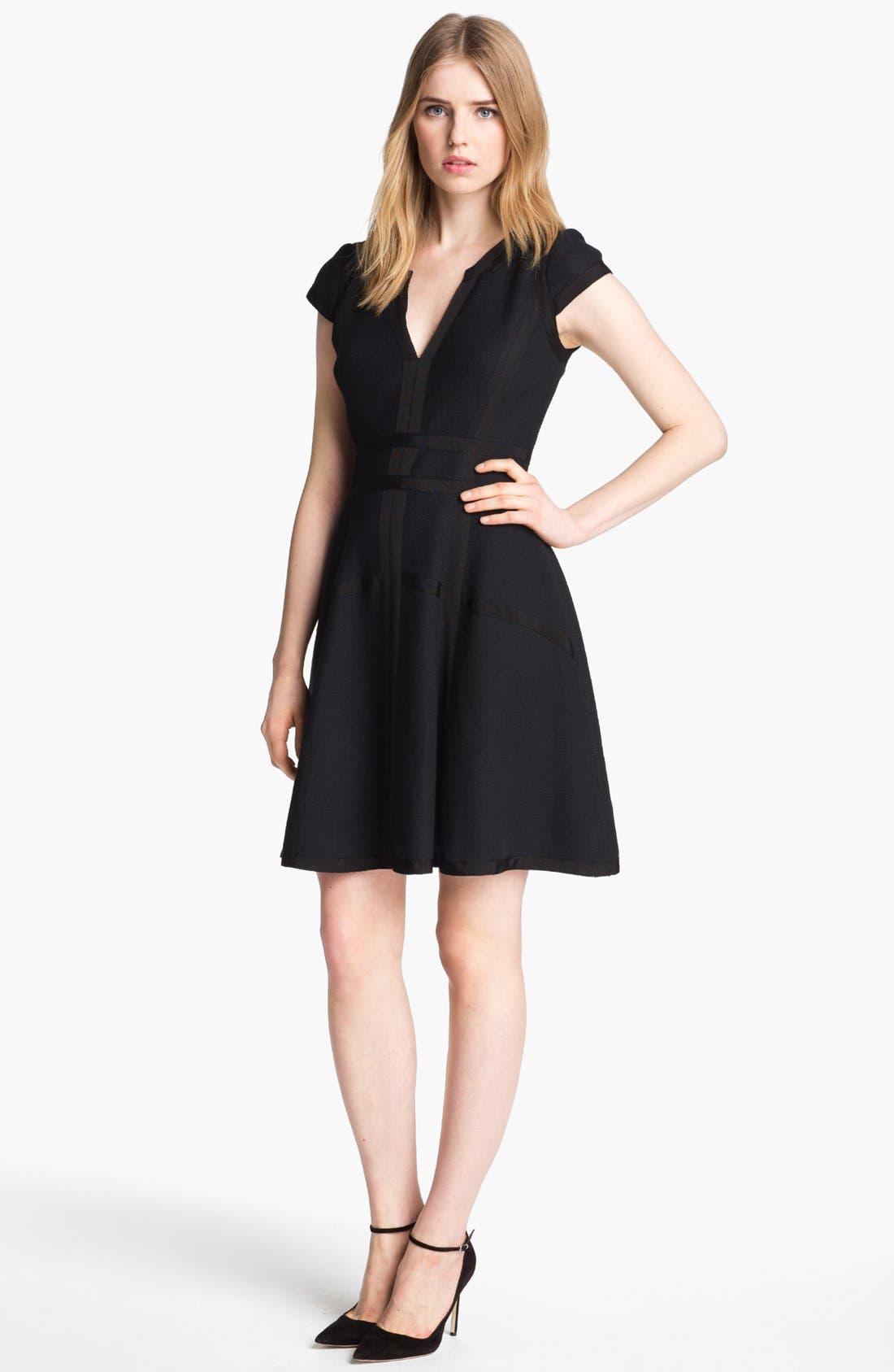 Alternate Image 1 Selected - Mcginn 'Anna' Textured Dress