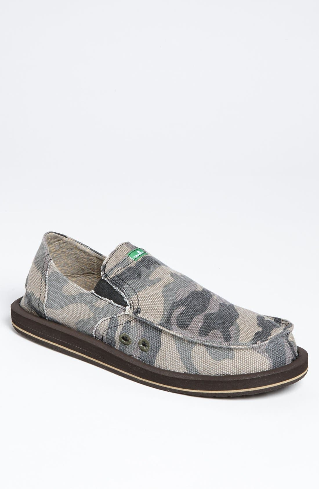 Alternate Image 1 Selected - Sanuk 'Pick Pocket' Slip-On (Men)