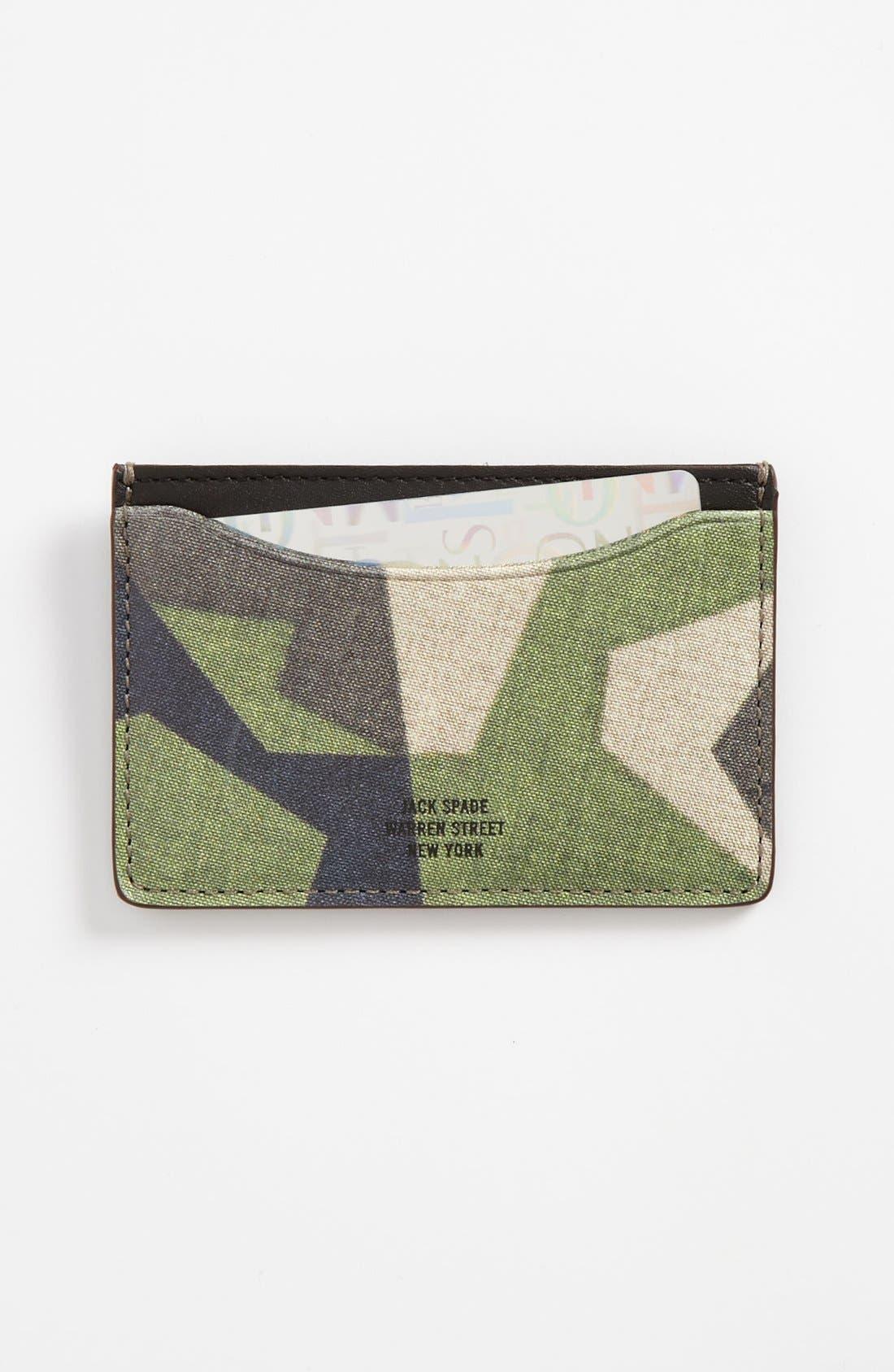 Main Image - Jack Spade 'M90' Card Case