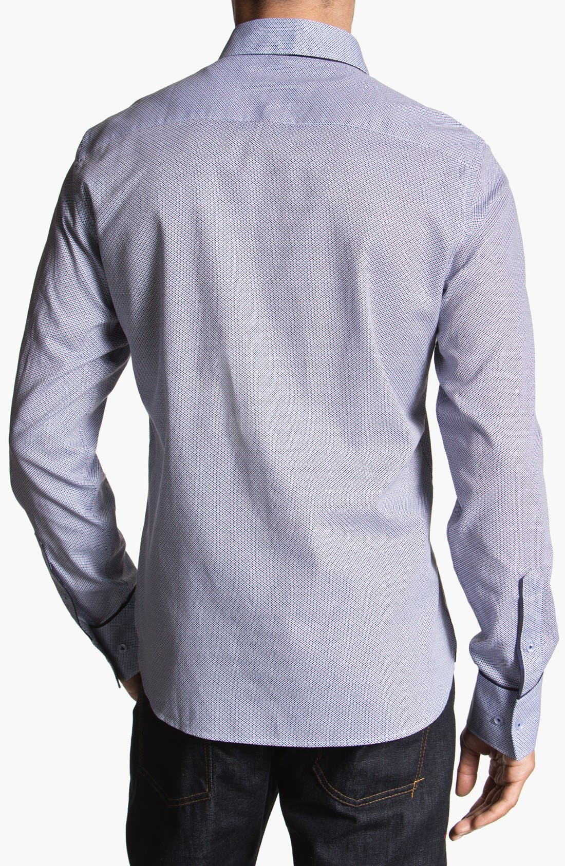 Alternate Image 2  - Stone Rose Geometric Woven Shirt