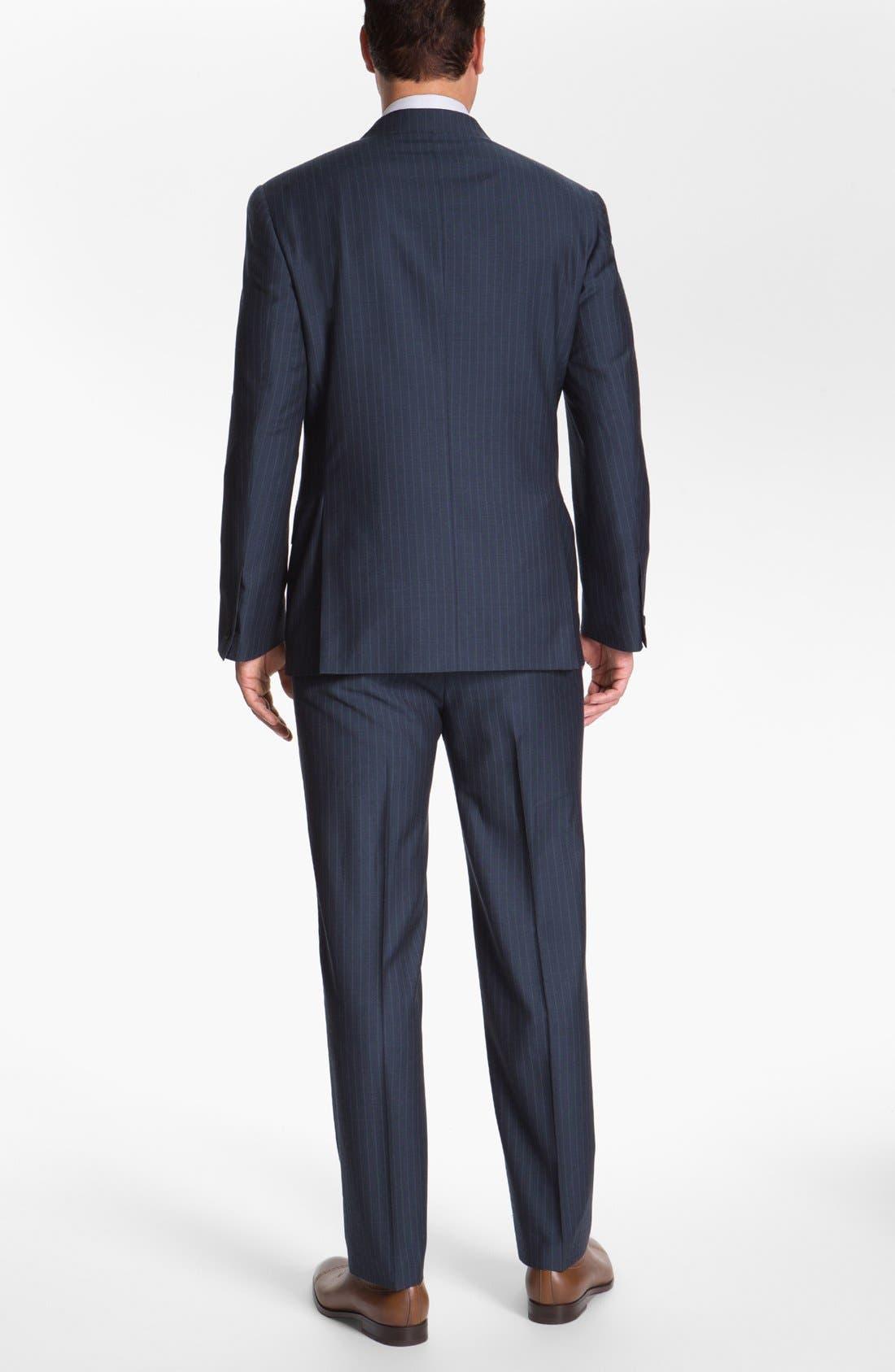 Alternate Image 3  - Joseph Abboud 'Platinum' Stripe Wool Suit