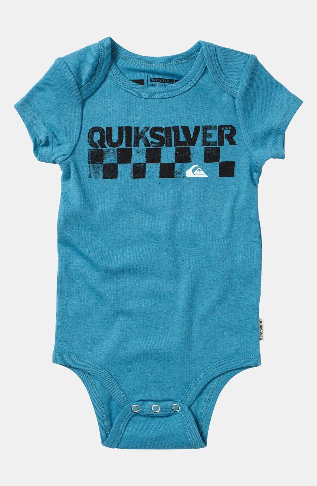 Alternate Image 3  - Quiksilver 'Echo Beach' Bodysuit (2-Pack) (Baby)