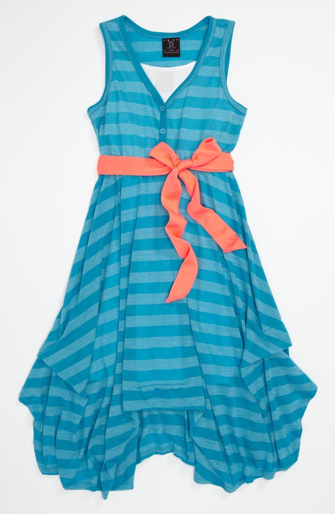 Alternate Image 1 Selected - W Girl Sleeveless Dress (Little Girls & Big Girls)