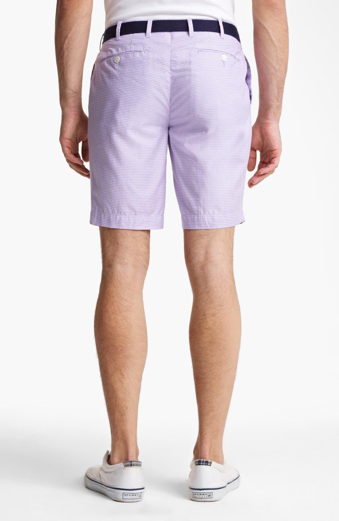 Alternate Image 2  - Polo Ralph Lauren Slim Gingham Shorts