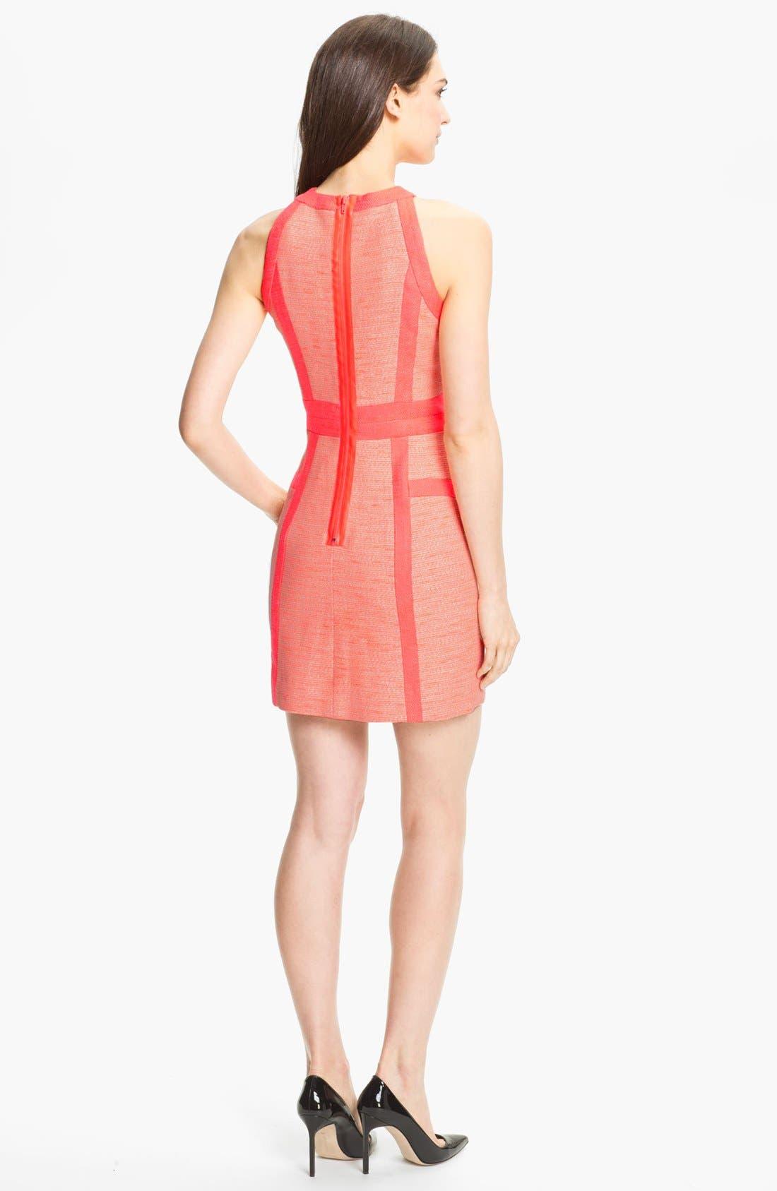 Alternate Image 2  - Milly Cotton Blend Sheath Dress