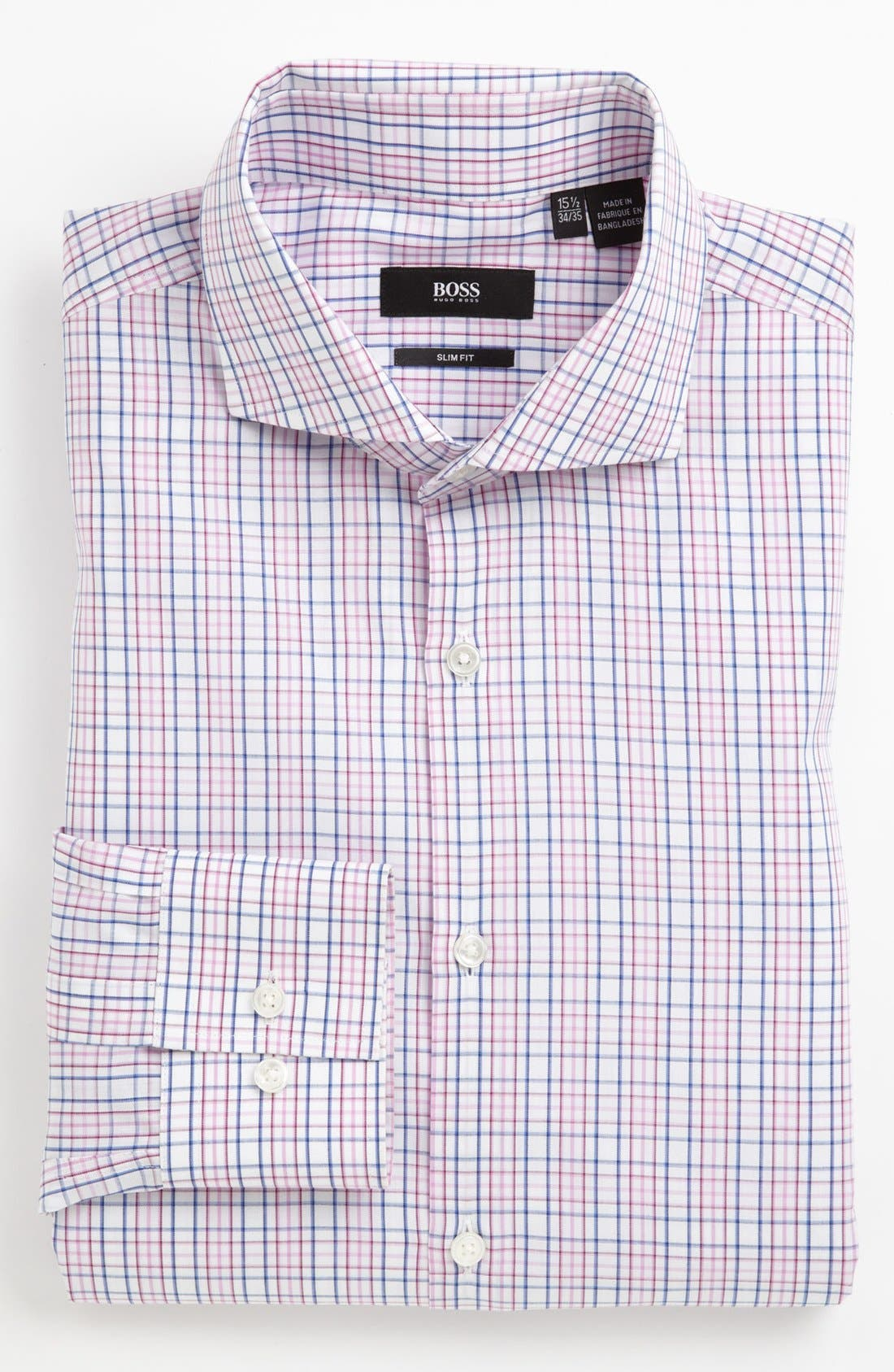 Alternate Image 1 Selected - BOSS HUGO BOSS Slim Fit Dress Shirt
