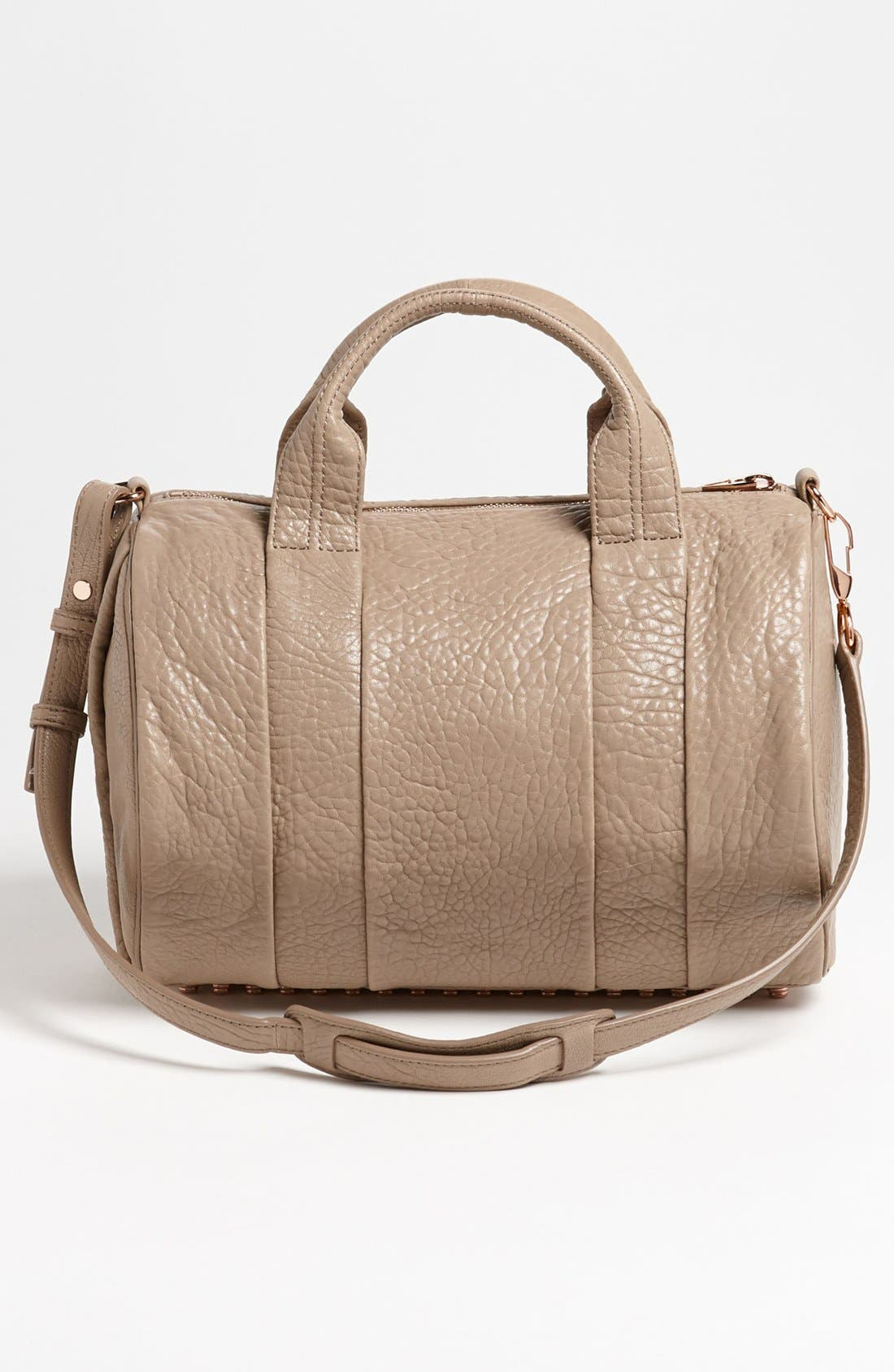 Alternate Image 4  - Alexander Wang 'Rocco - Rosegold' Leather Satchel