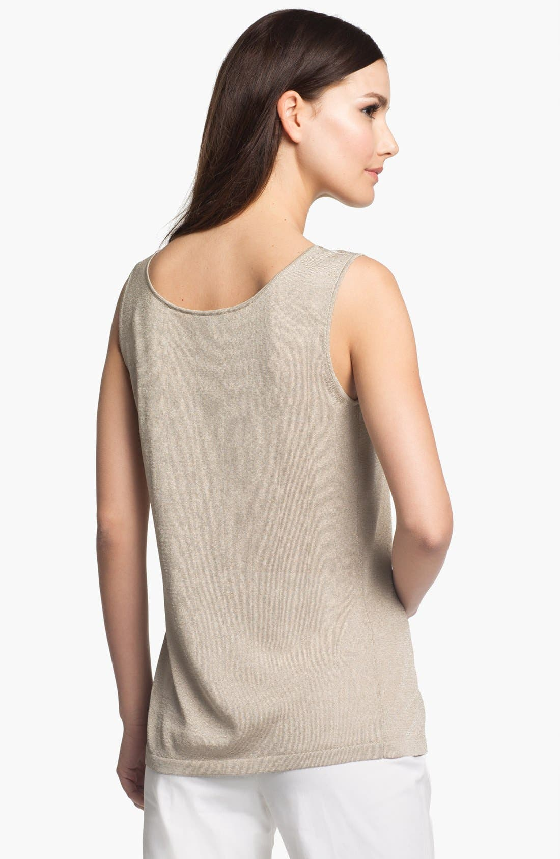 Alternate Image 2  - Lafayette 148 New York 'Pure Radiance' Tank
