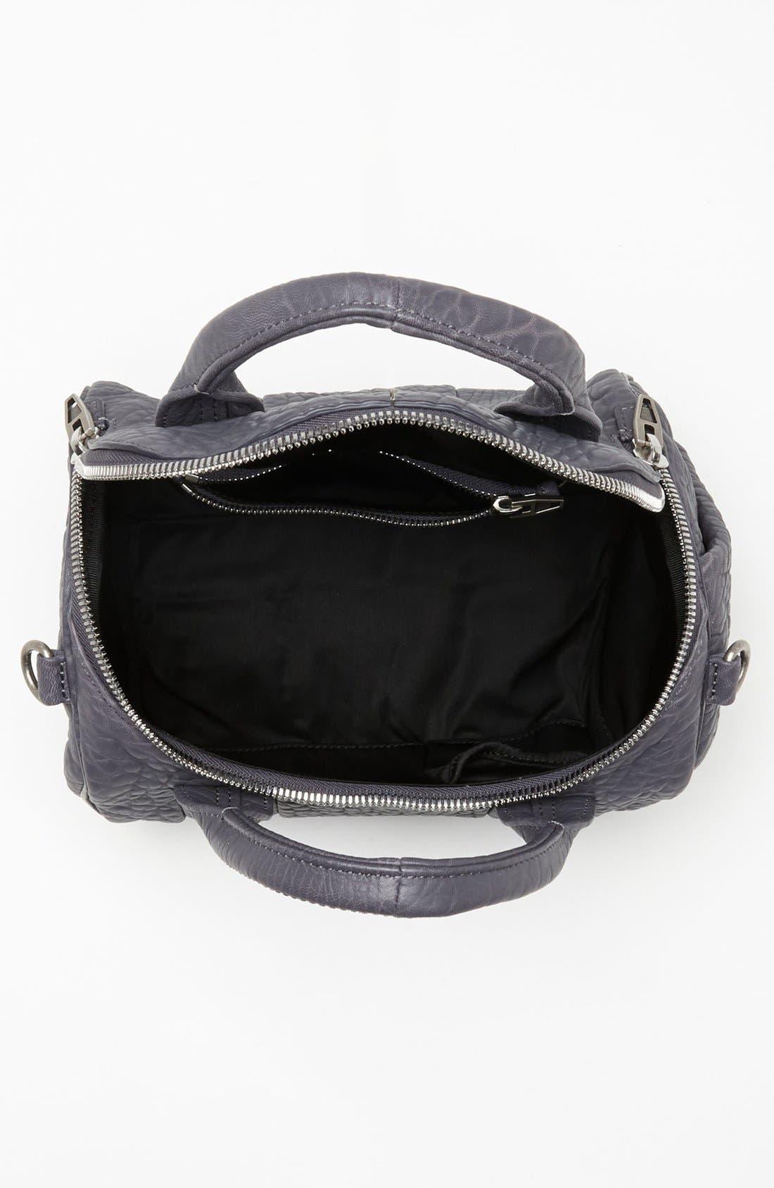Alternate Image 3  - Alexander Wang 'Rockie - Antique Silver' Leather Crossbody Satchel