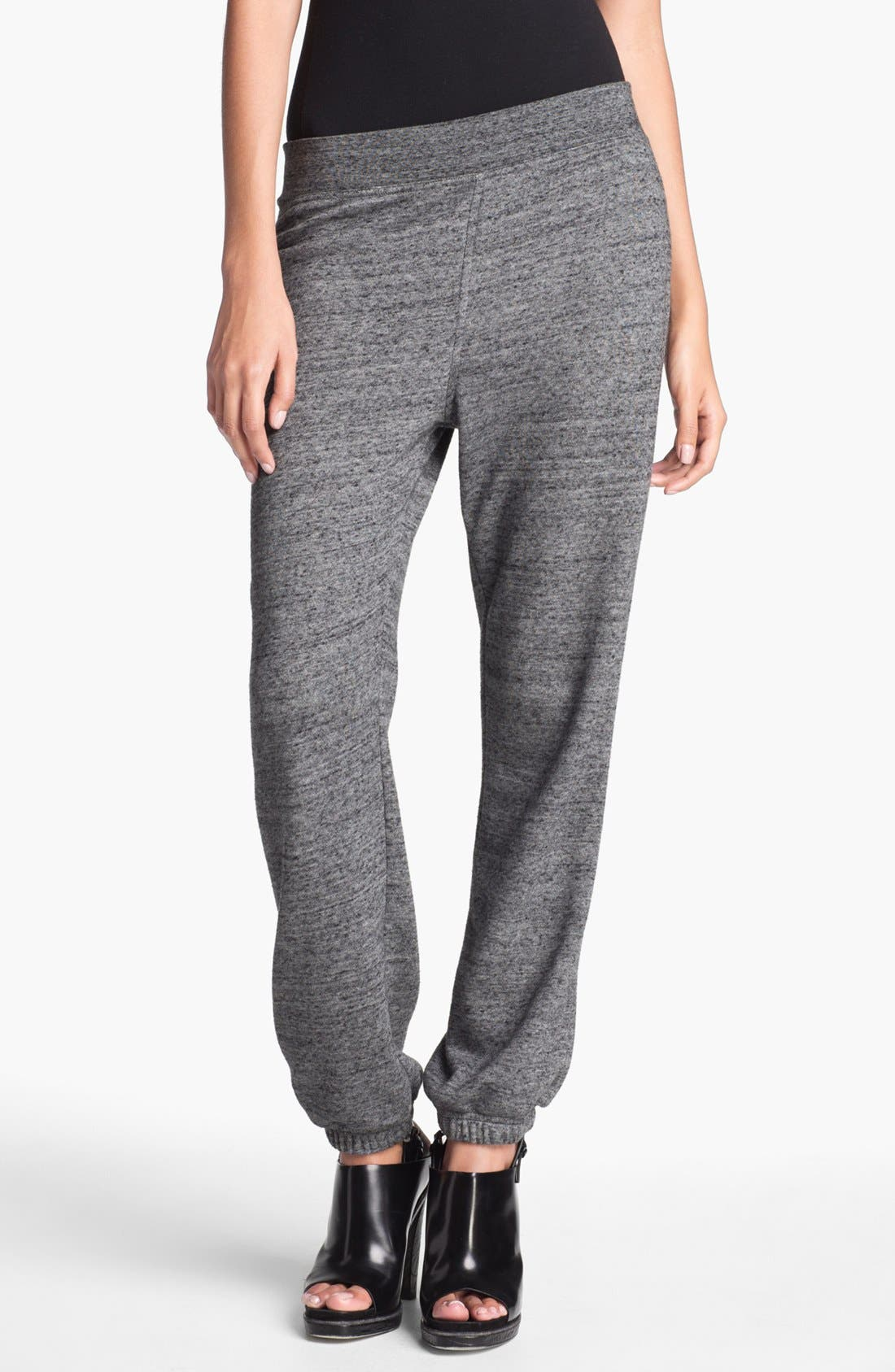 Alternate Image 1 Selected - T by Alexander Wang French Terrry Sweatpants