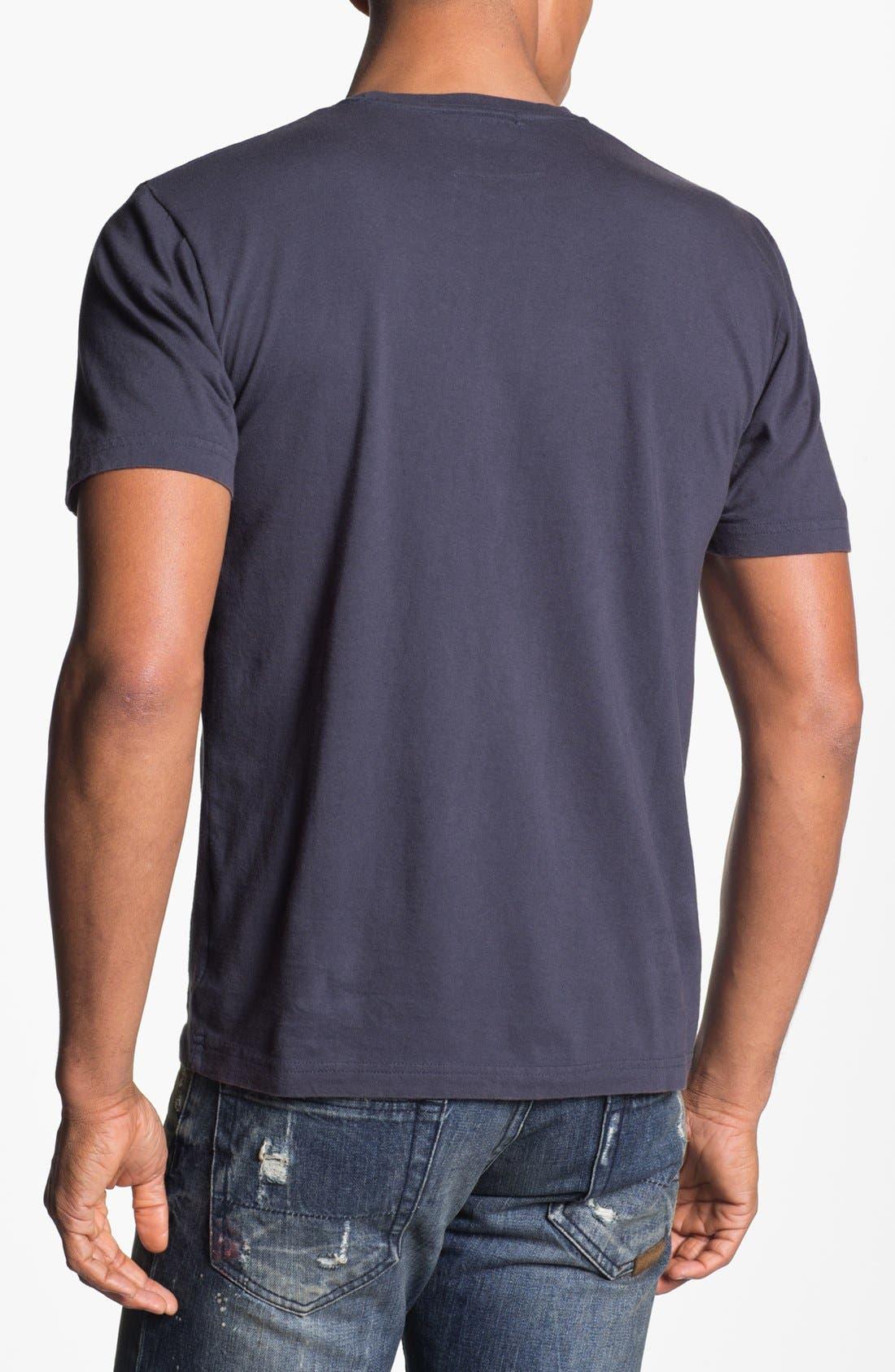Alternate Image 2  - Red Jacket 'Tampa Bay Rays' Trim Fit T-Shirt (Men)