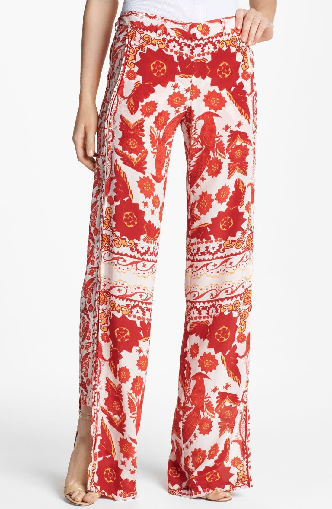 Alternate Image 1 Selected - Rebecca Minkoff 'Hugo' Silk Pants