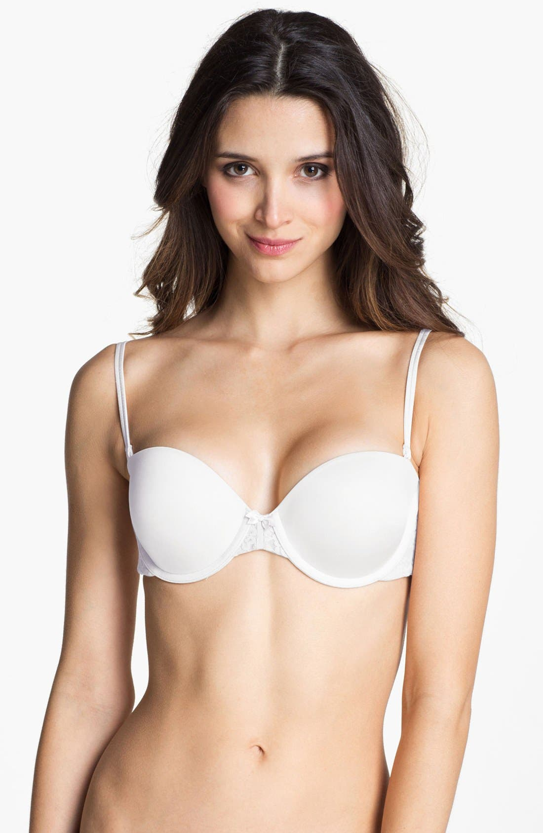 Alternate Image 1 Selected - DKNY 'Signature Lace' Convertible Underwire Bra