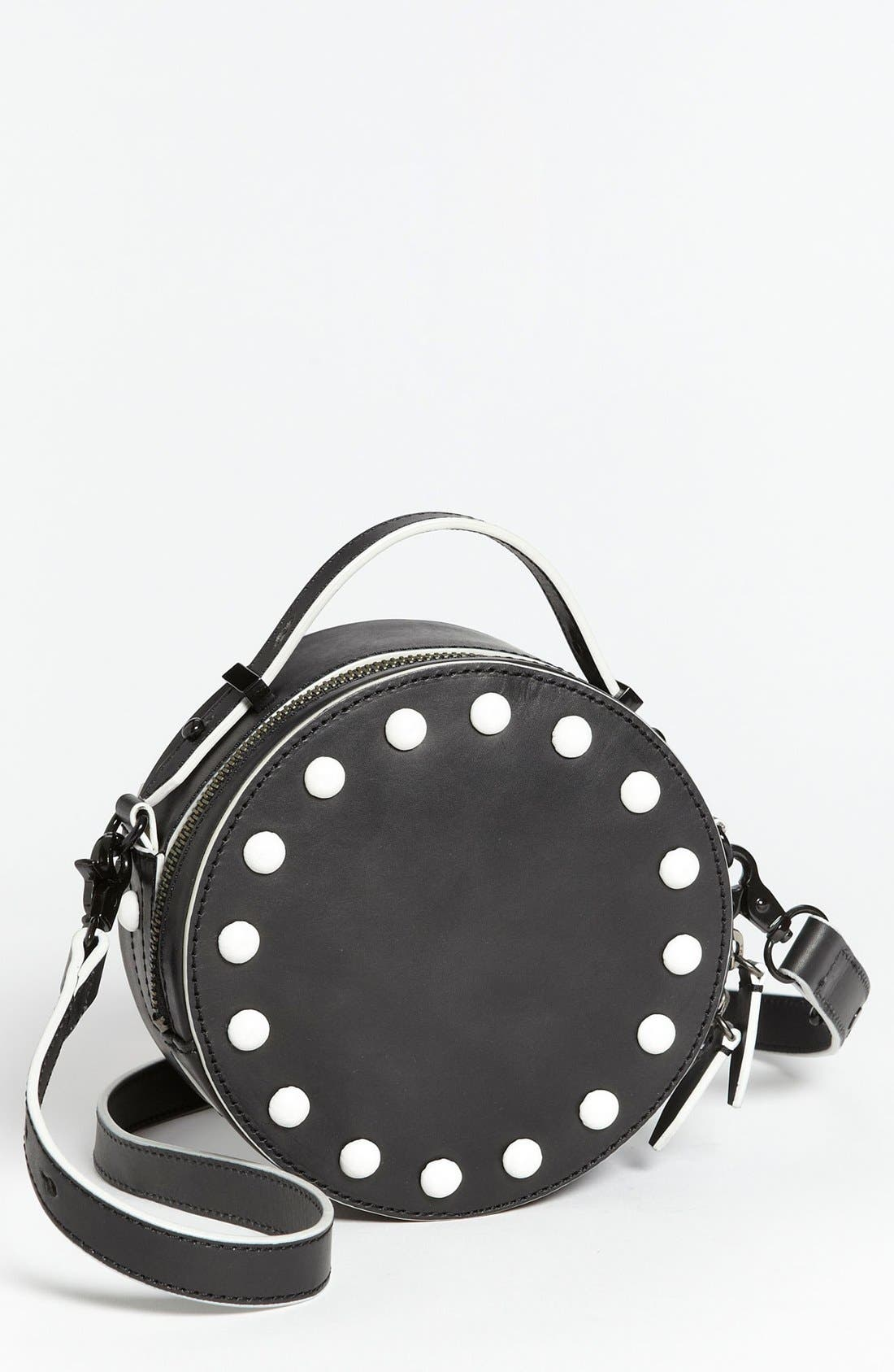 Main Image - Loeffler Randall 'Circle' Leather Crossbody Bag, Small