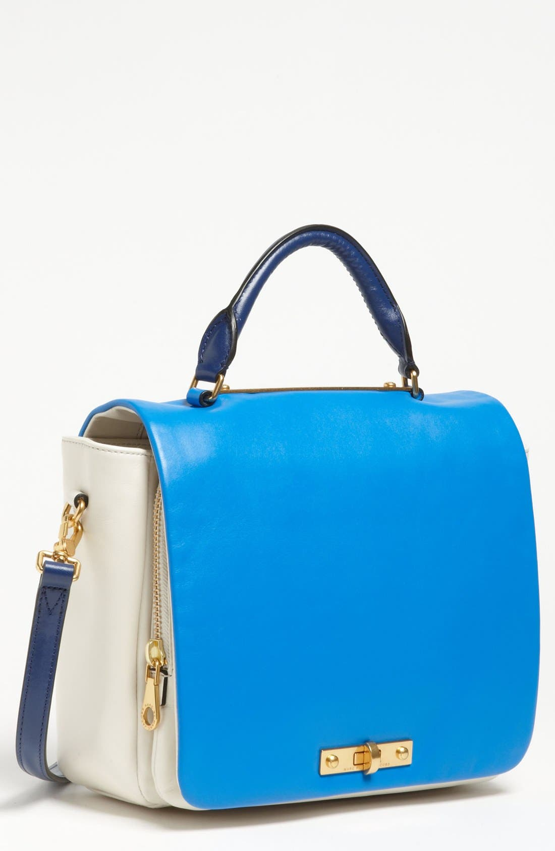 Alternate Image 1 Selected - MARC BY MARC JACOBS 'Goodbye Columbus' Leather Satchel