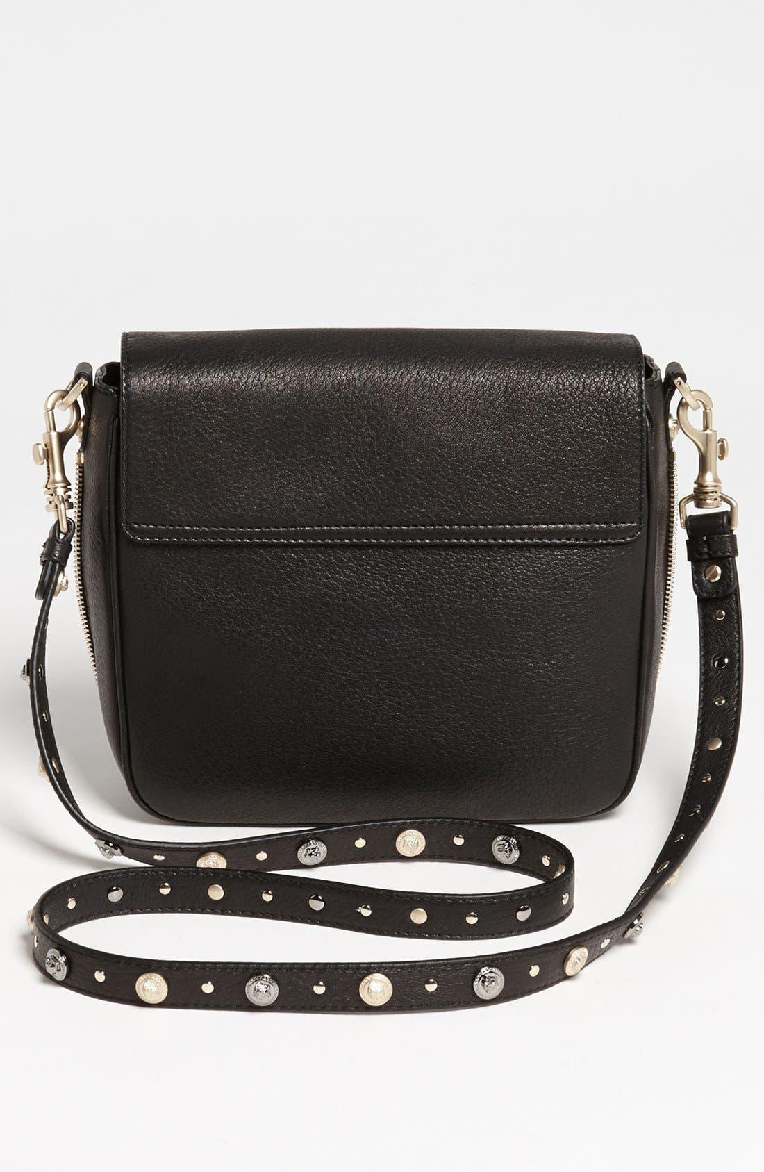 Alternate Image 4  - Versace 'Classic - Triple Medusa' Leather Crossbody Bag