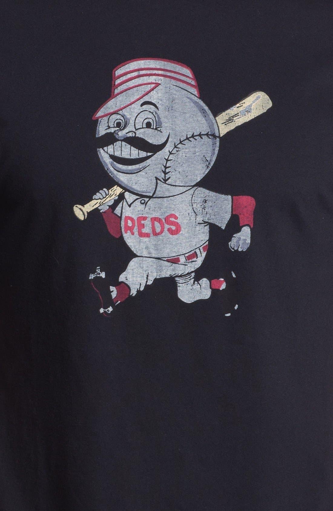 Alternate Image 3  - Red Jacket 'Cincinnati Reds' Trim Fit T-Shirt (Men)