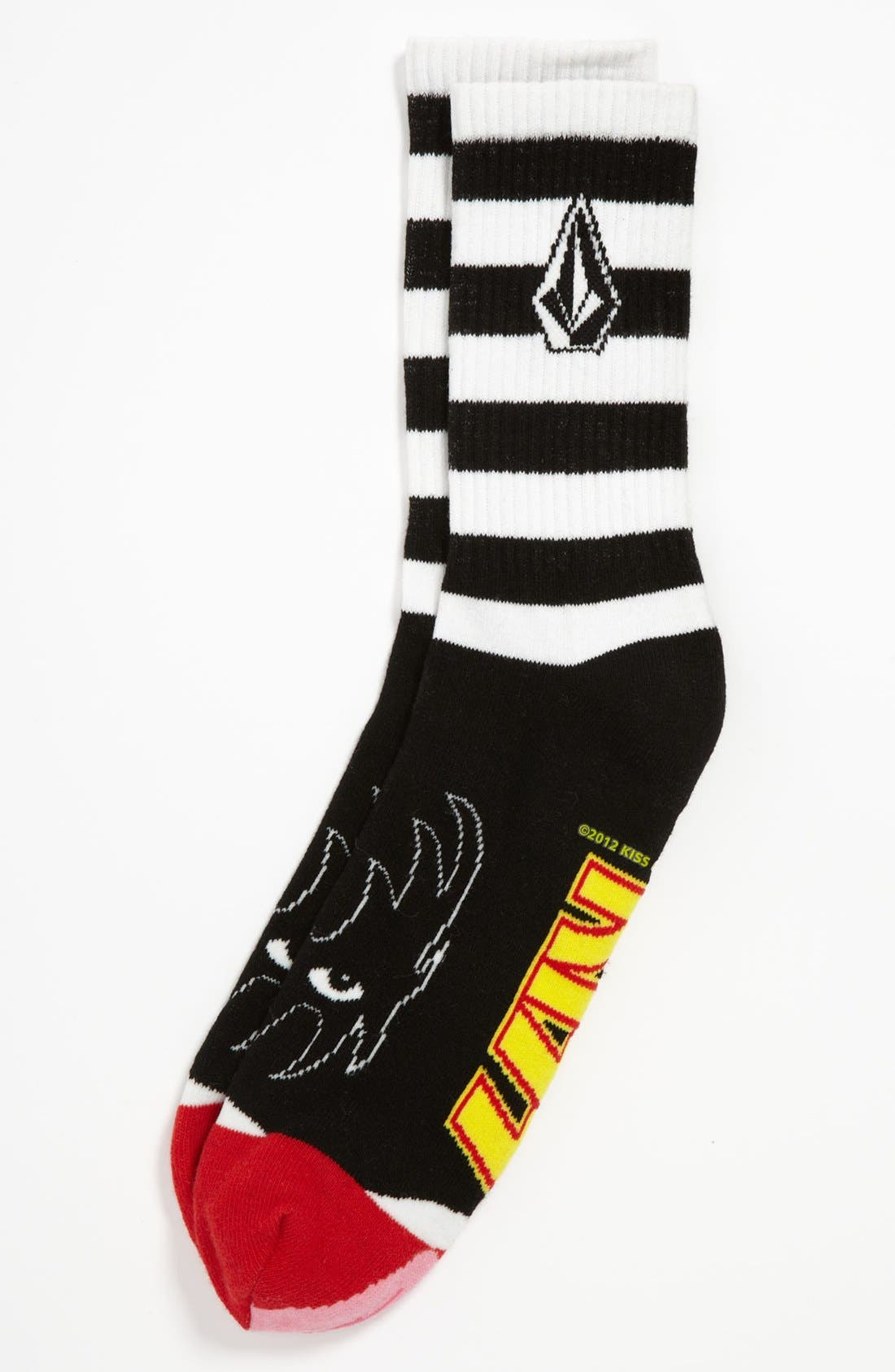 Main Image - Volcom 'KISS®' Socks (Boys)